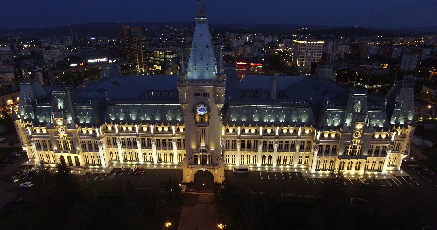 Iluminat Arhitectural Palatul Culturii Iasi