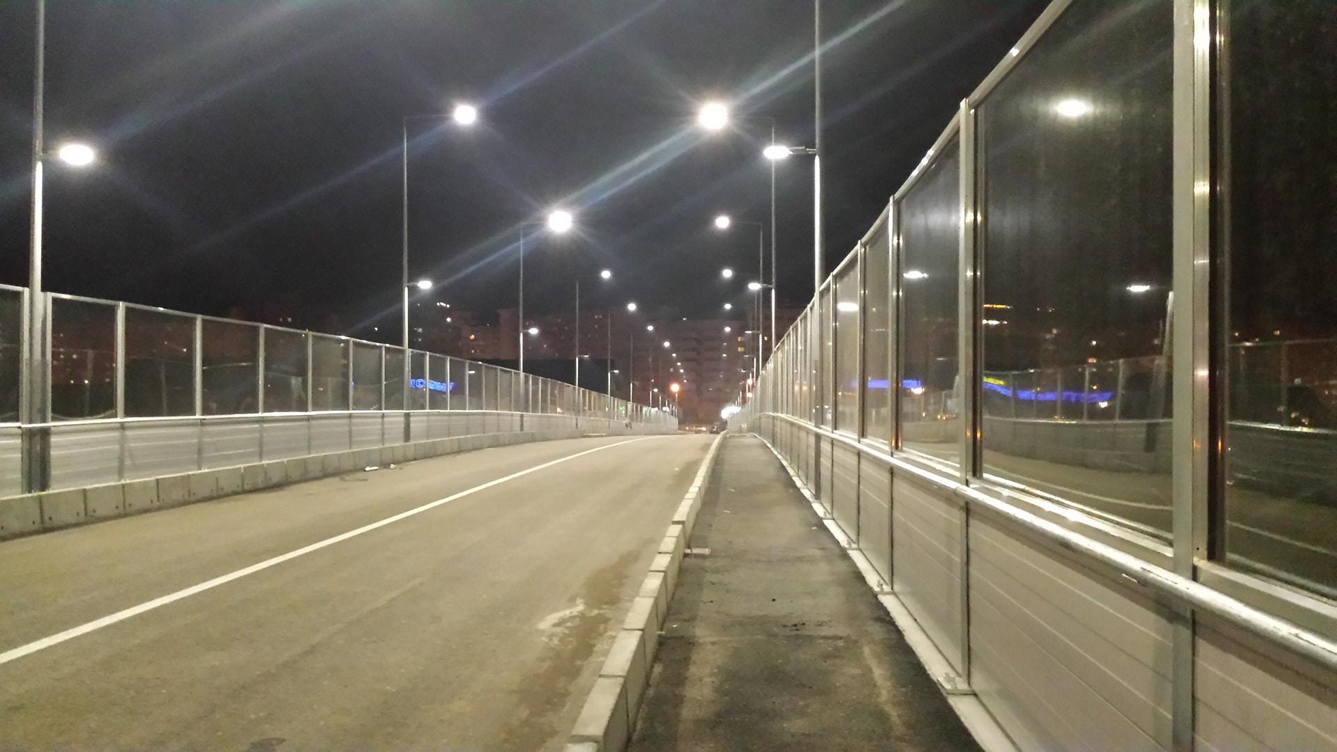 Iluminarea pasajului Octav Băncilă din Iași